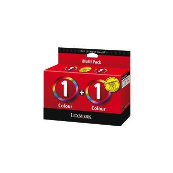 Sada originálních cartridge Lexmark 1 (80D2955) (Barevná)