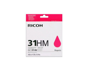 Originální cartridge Ricoh 405703 (GC-31 HM) (Purpurová)