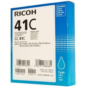 Originální cartridge Ricoh 405762 (Azurová)