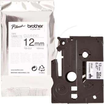 Originální páska Brother TZE-CL3, 12mm, čisticí kazeta