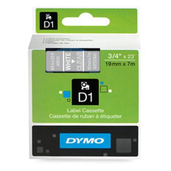 Originální páska DYMO 45810 (S0720900), 19mm, bílý tisk na průsvitném podkladu