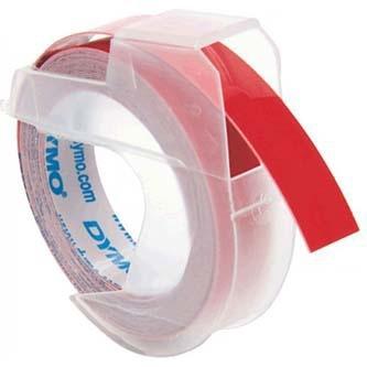 Originální páska DYMO S0898150, 9mm, bílý tisk na červeném podkladu