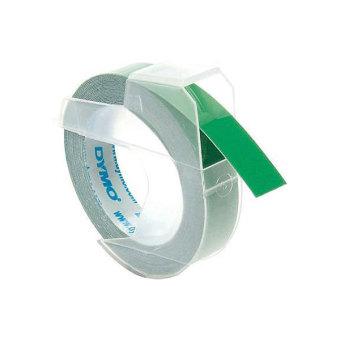 Originální páska DYMO S0898160, 9mm, bílý tisk na zeleném podkladu