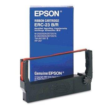 Originální páska Epson C43S015362, ERC 23 (červená, černá)