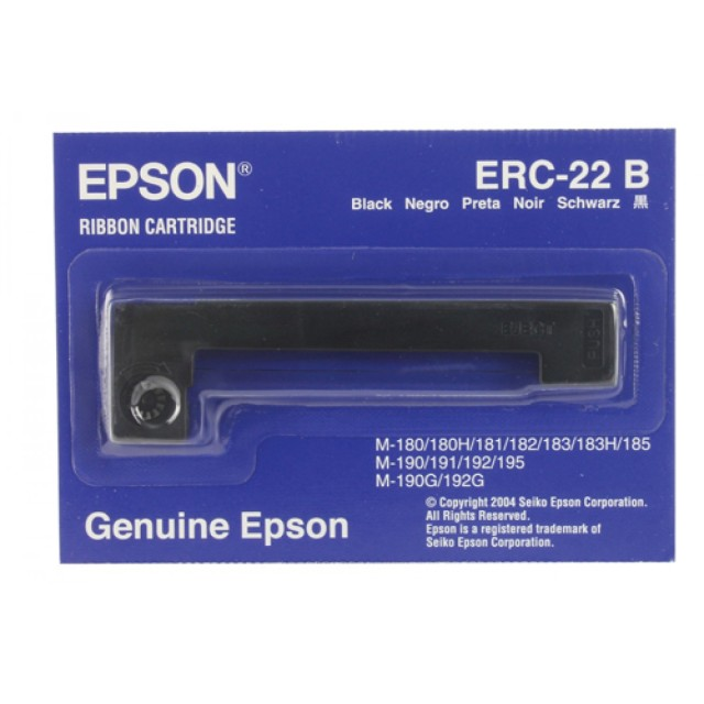 Originální páska Epson C43S015358, ERC 22 (černá)