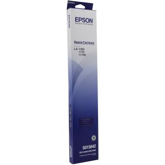 Originální páska Epson C13S015642 (černá)
