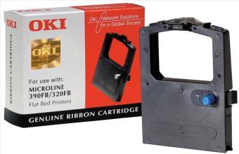Originální páska OKI 9002310 (černá)