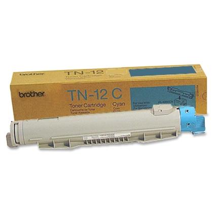 Originální toner Brother TN-12C (Azurový)