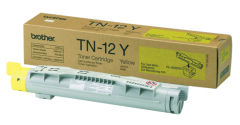 Toner do tiskárny Originální toner Brother TN-12Y (Žlutý)