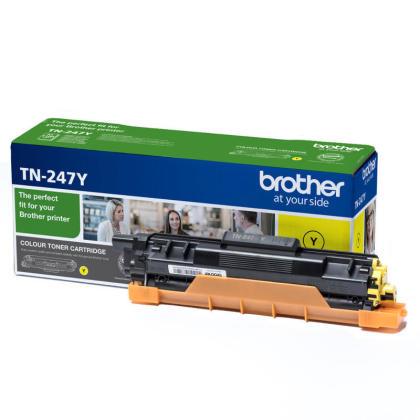Originální toner Brother TN-247Y (Žlutý)