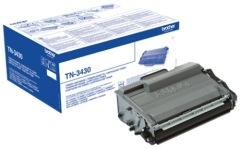 Toner do tiskárny Originální toner Brother TN-3430 (Černý)