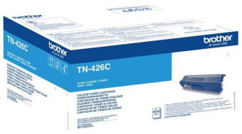 Originální toner s Brother TN-426C (Azurový)