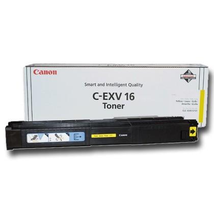Originální toner CANON C-EXV-16 Y (Žlutý)