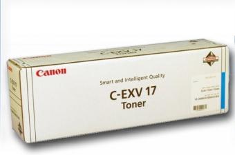 Originální toner CANON C-EXV-17 C (Azurový)