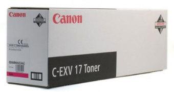 Originální toner CANON C-EXV-17 M (Purpurový)