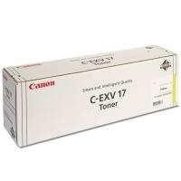 Toner do tiskárny Originální toner CANON C-EXV-17 Y (Žlutý)