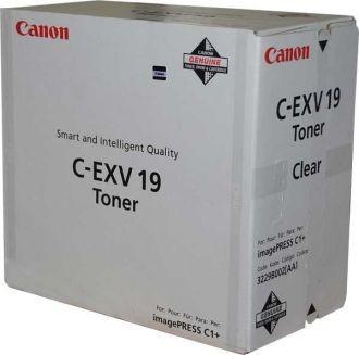 Originální toner CANON C-EXV-19 clear
