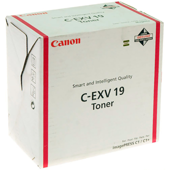 Originální toner CANON C-EXV-19 M (Purpurový)