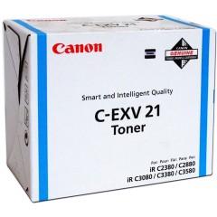 Toner do tiskárny Originální toner Canon C-EXV-21C (Azurový)