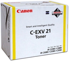Toner do tiskárny Originální toner Canon C-EXV-21Y (Žlutý)