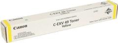 Toner do tiskárny Originální toner CANON C-EXV-49 Y (Žlutý)