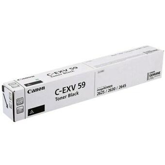 Originální toner Canon C-EXV-59 BK (Černý)