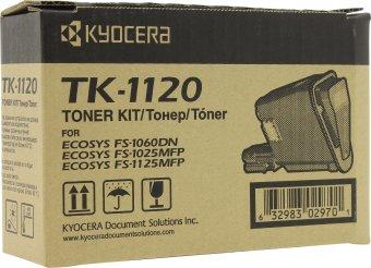 Originální toner KYOCERA TK-1120 (Černý)