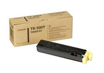 Originální toner Kyocera TK-500Y (Žlutý)