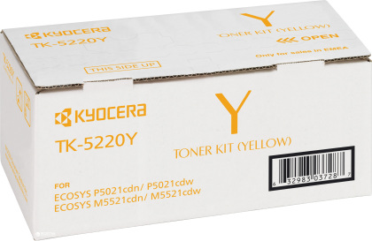 Originální toner Kyocera TK-5220Y (Žlutý)