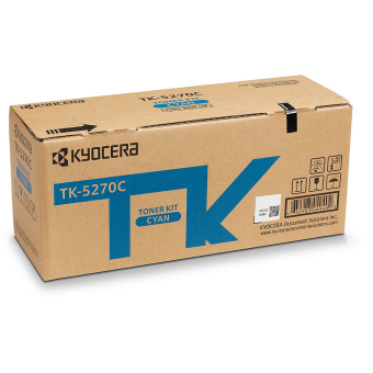Originální toner Kyocera TK-5270C (Azurový)