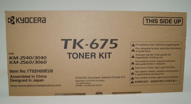 Originální toner KYOCERA TK-675 (Černý)