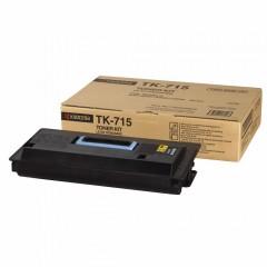 Toner do tiskárny Originální toner KYOCERA TK-715 (Černý)
