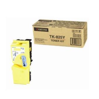 Originální toner Kyocera TK-825Y (Žlutý)