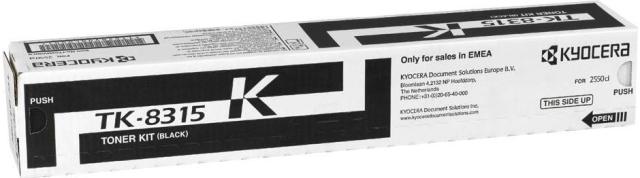 Originální toner Kyocera TK-8315K (Černý)