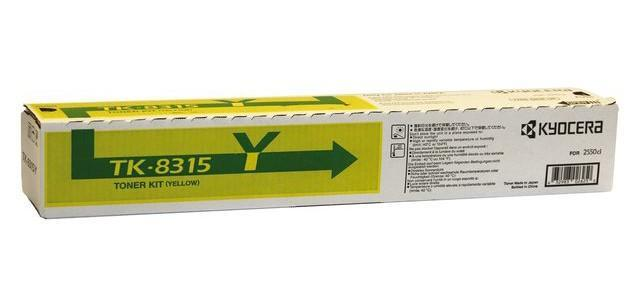 Originální toner Kyocera TK-8315Y (Žlutý)