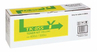 Originální toner Kyocera TK-855Y (Žlutý)