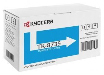Originální toner KYOCERA TK-8735C (Azurový)