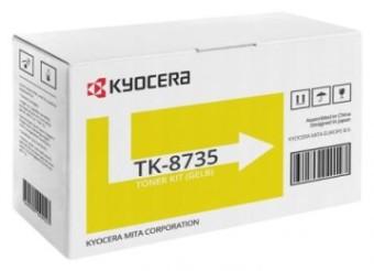Originální toner KYOCERA TK-8735Y (Žlutý)