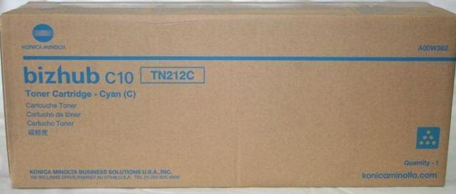 Originální toner Minolta TN-212C (A00W372) (Azurový)