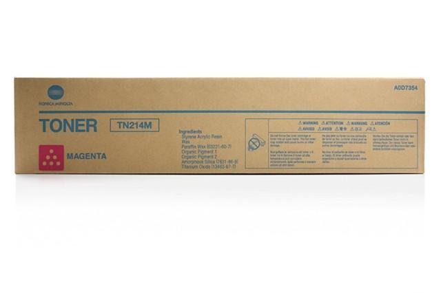 Originální toner Minolta TN-214M (A0D7354) (Purpurový)