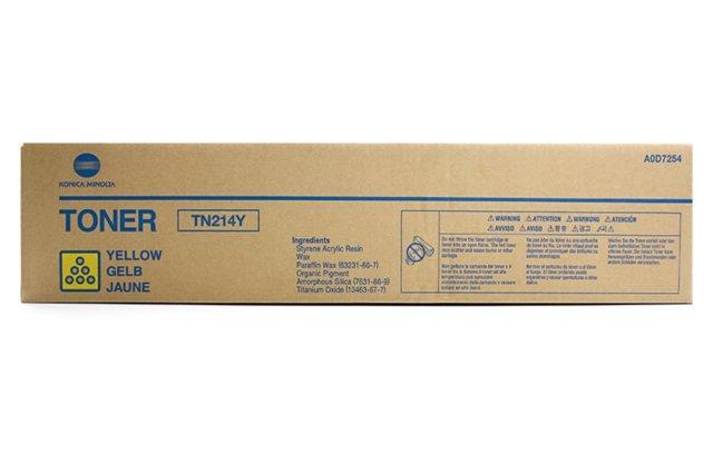 Originální toner Minolta TN-214Y (A0D7254) (Žlutý)