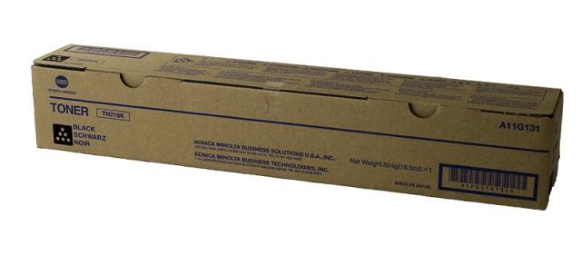 Originální toner Minolta TN-216K (A11G151) (Černý)