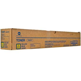 Originální toner Minolta TN-221Y (A8K3250) (Žlutý)