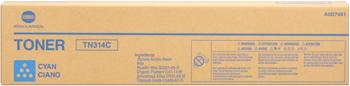 Originální toner Minolta TN-314C (A0D7451) (Azurový)