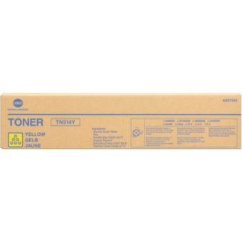 Originální toner Minolta TN-314Y (A0D7251) (Žlutý)