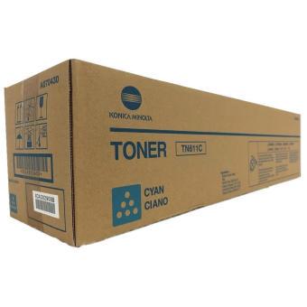 Originální toner Minolta TN-611C (A070450) (Azurový)