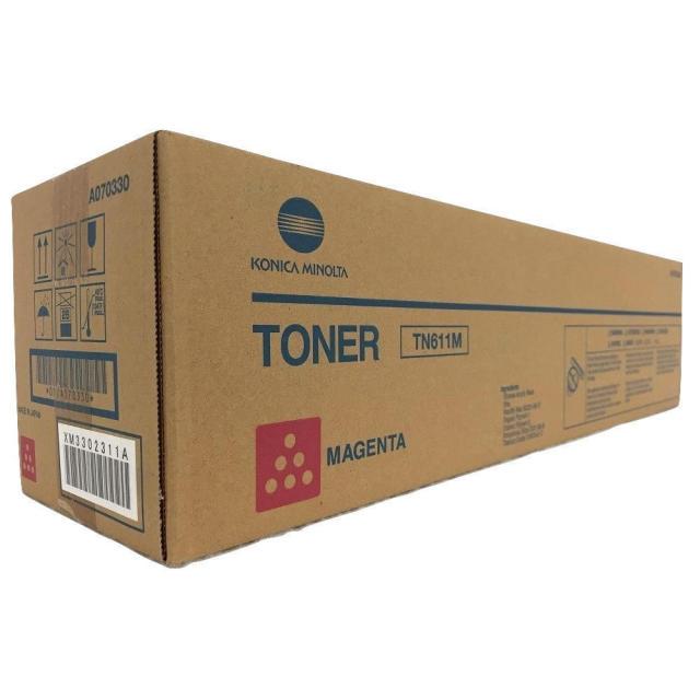 Originální toner Minolta TN-611M (A070350) (Purpurový)