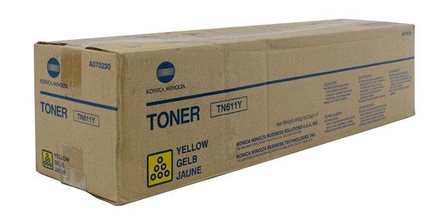 Originální toner Minolta TN-611Y (A070250) (Žlutý)