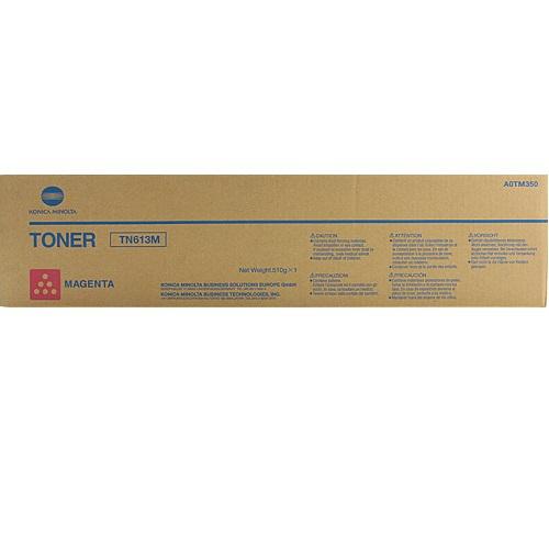 Originální toner Minolta TN-613M (A0TM350) (Purpurový)
