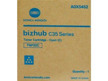 Originální toner Minolta TNP- 22C (A0X5452) (Azurový)
